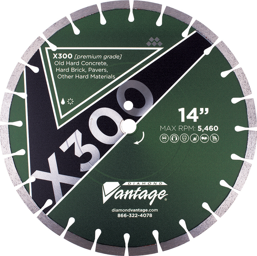 "Diamond Vantage 1412ESIZ 14/"" X .125/"" X 1//20MM General Purpose Economy Blade"