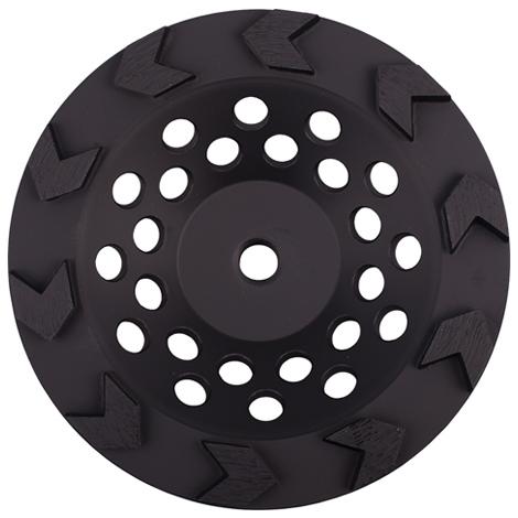 DIAMOND VANTAGE 45HDDGDX1 Grinding Wheel,Cup No 18,4-1//2 in Seg